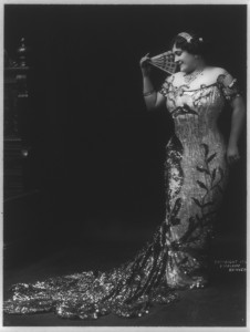 Luise Tetrazzini, 1914. Source: Library of Congress